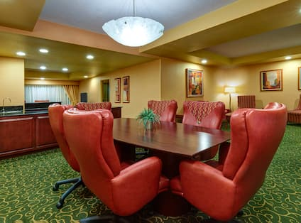 Hospitality Suite Dining or Meeting Area