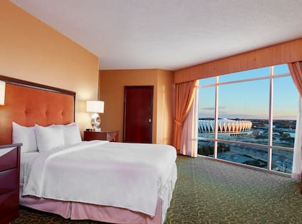 Presidential Corner Room with Coliseum View