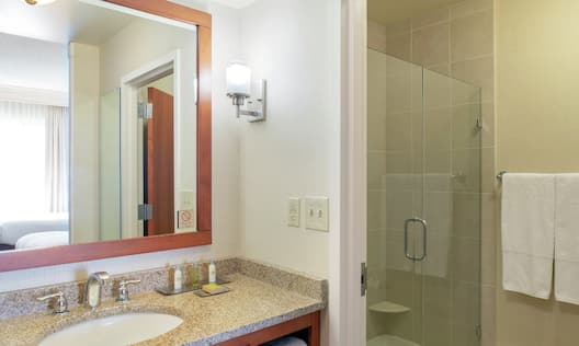 Standard Bathroom Vanity Area