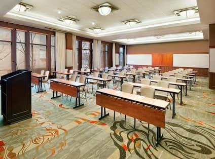 Meeting Room in Classroom Setup