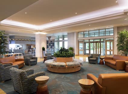 Comfortable and Spacious Lobby Seating Area