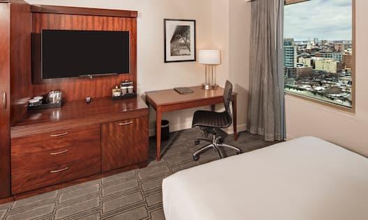 Queen Accessible Bedroom