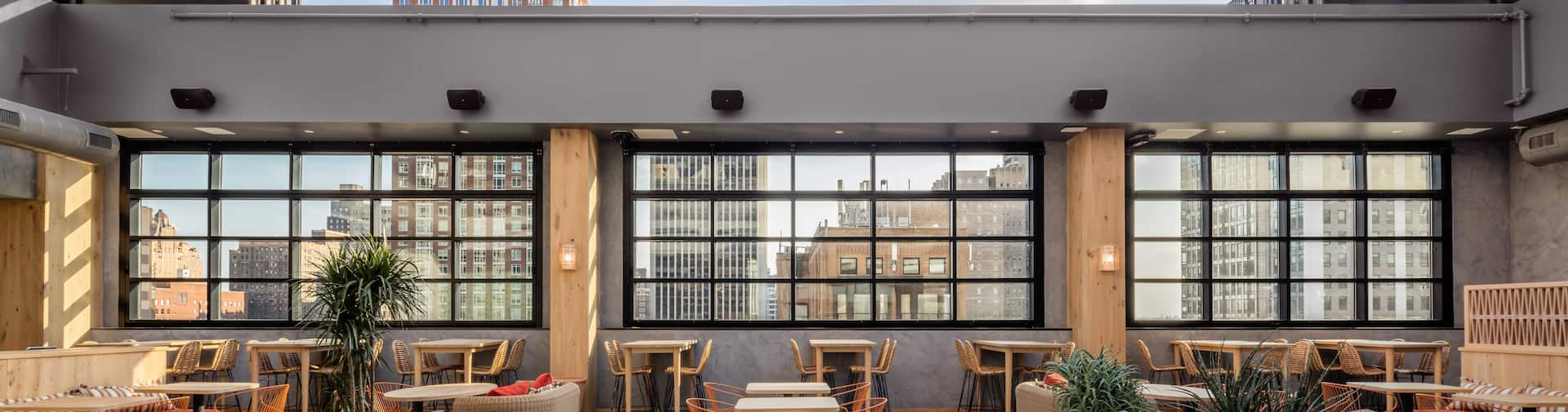 Techo Rooftop Tables And Seating