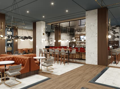 Lobby Bar with seating