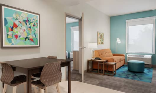Accessible Suite Living Room