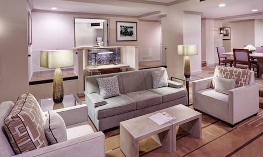 Signature Presidential Suite - Living Room