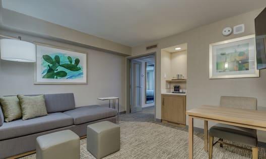 Guest Bedroom Living Area