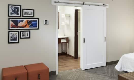 King Studio Suite Room Area
