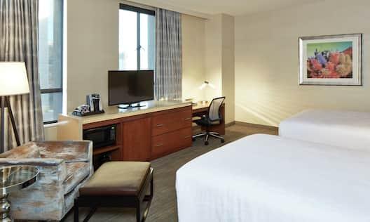 Double Queen Bedroom Suite