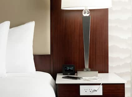 Guestroom with Bed, Room Technology, and Bedside USB Ports