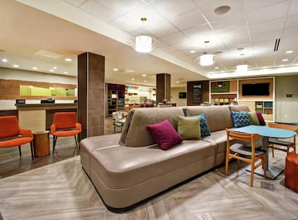Lobby Seating and Lounge Area