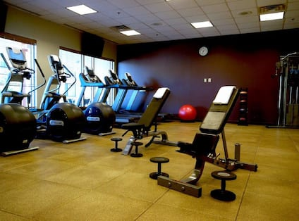 Fitness Center Wide