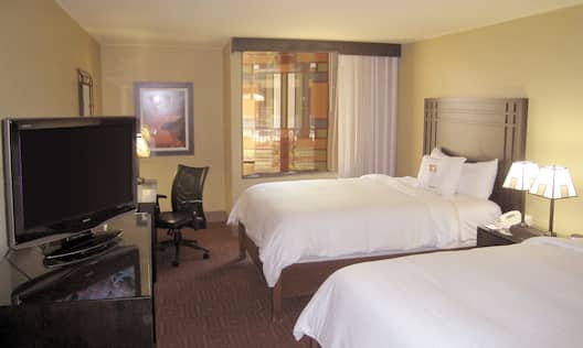Accessible Double Queen Guest Room