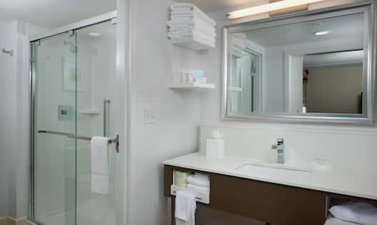 King Studio Suite Bathroom