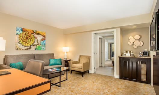 Agave Suite Living Area