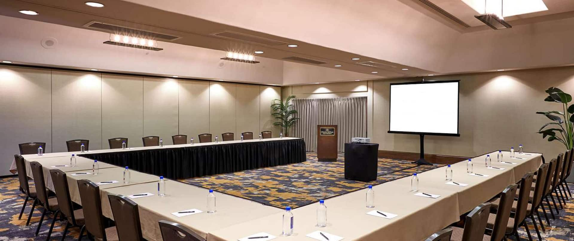 Meeting Room Setup U Shape Style