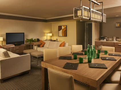 Ambassador Suite Living Area
