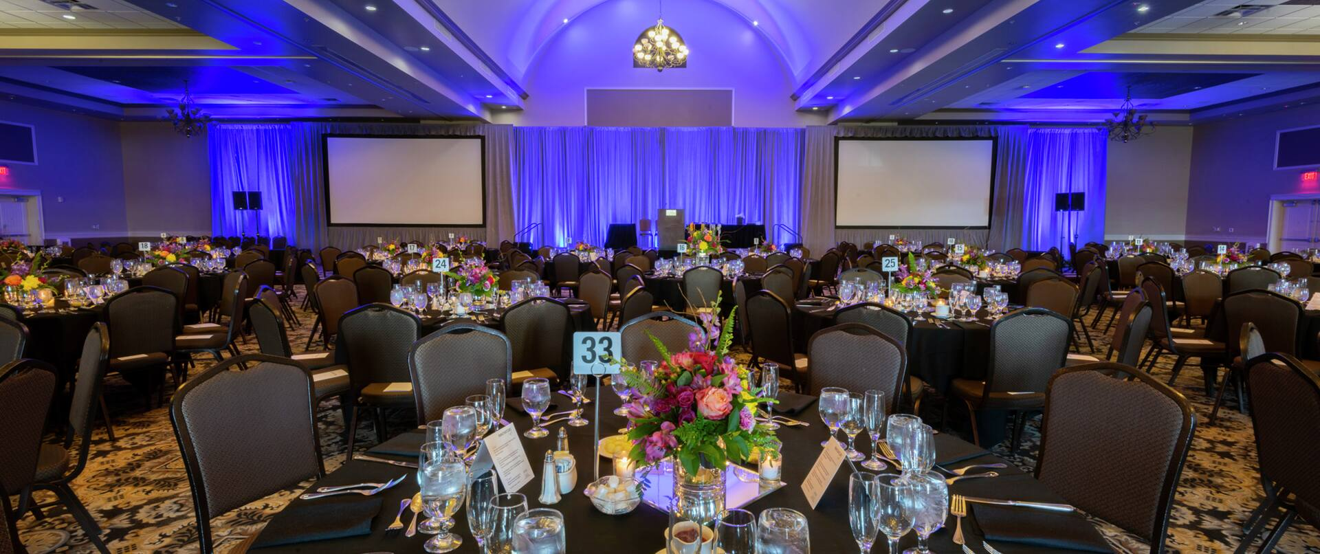 Elegant Conference & Event Center Setup for Event