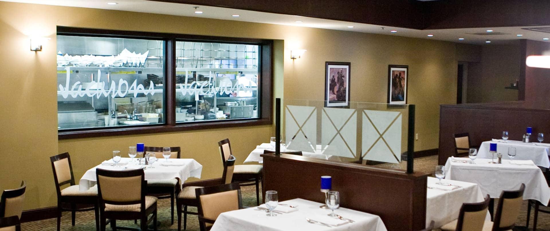 Jacksons Restaurant Seating