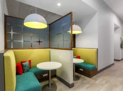 Lounge area with seating