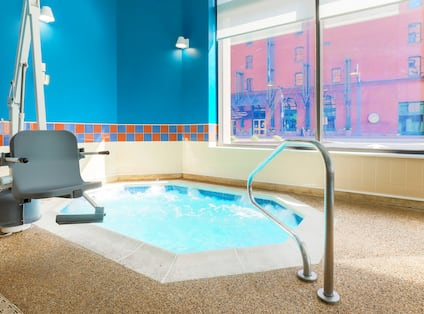 Whirlpool with chair