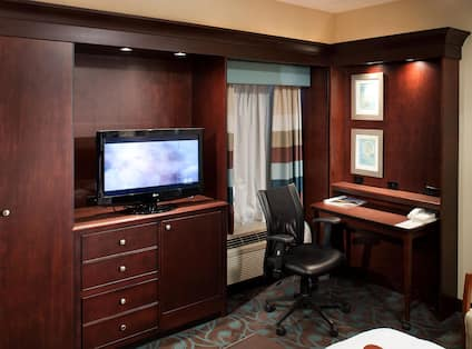 Guestroom with Work Desk and Room Technology