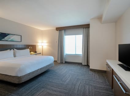 Accessible Junior Suite Bedroom with TV