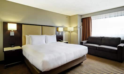 Guest Room with King Bed and Sofa