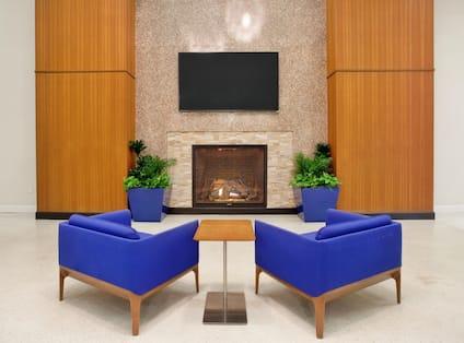 Fireplace of Lobby