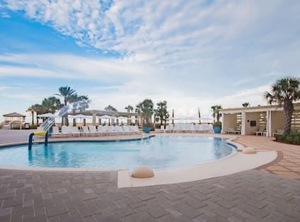 Outdoor Swimming Pool at Day