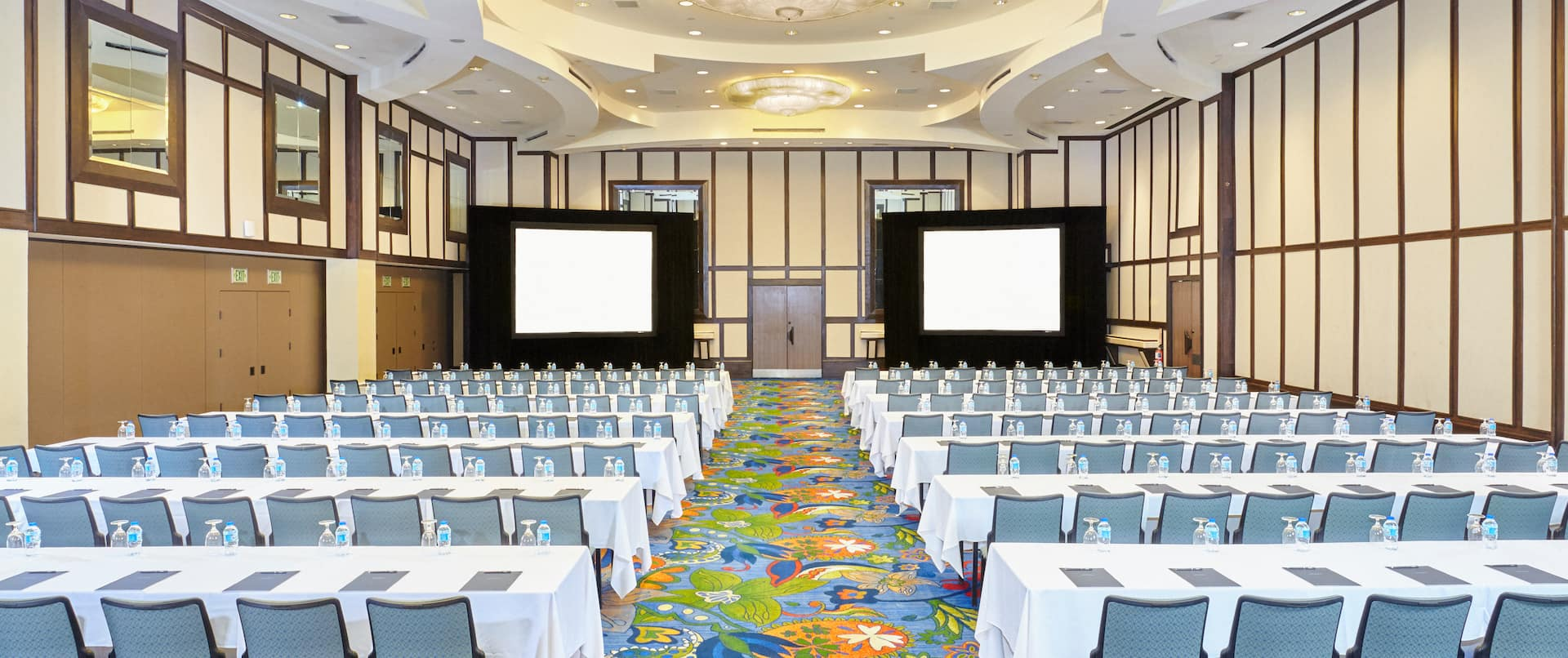 Grand Ballroom With Conference Setup