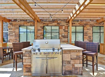 Patio with Grill