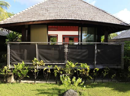 Outside View of Garden Bungalow
