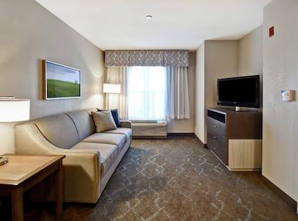 Accessible Suite Lounge Area