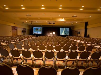 On-Site Ballroom Theater Setting