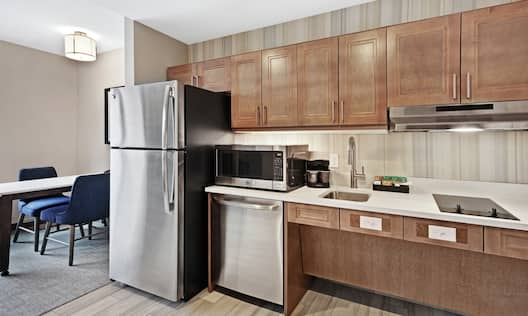 Accessible Guestroom Kitchen