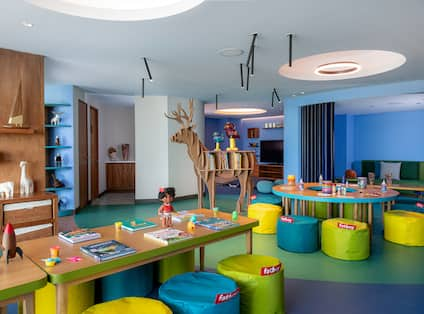 Kids Club with Colorful Decorations
