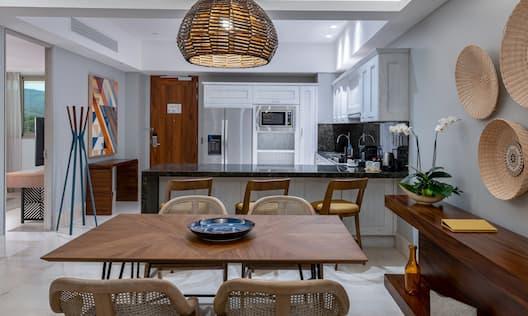 Suite Kitchen Area in Two Bedroom Suite