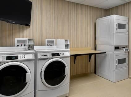 Guest Laundry Facility Washing Machines Tumble Dryers
