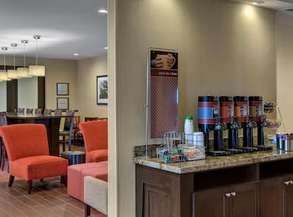 Lobby Coffee Station Counter