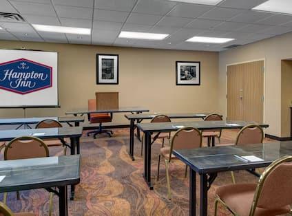 Meeting Room Classroom Set Up