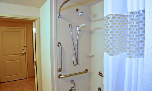 Accessible Tub, Shower Detail