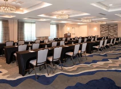 Eagle Meeting Room Setup for Conference