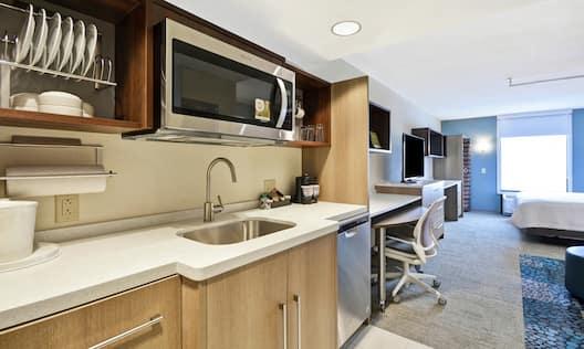 Studio Suite Kitchen Area