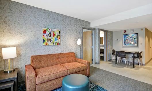 Sofa in Suite Living Area