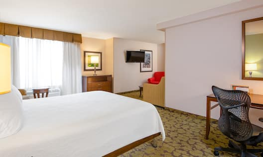 Junior Suite with King Bed, Work Desk and Television