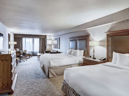 Guestroom with Two King Beds