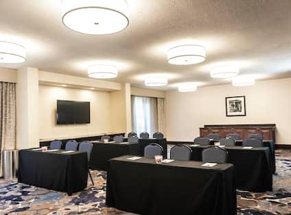 Catawba Meeting Room Classroom Style Setup