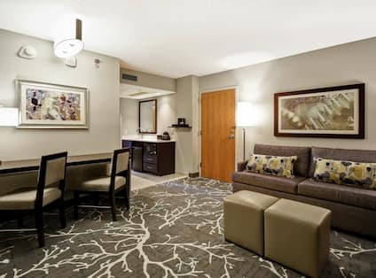 Accessible Guestroom Lounge Area
