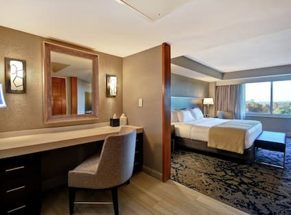 Suite Bedroom and Powder Room
